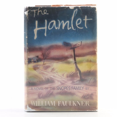 "Second Printing ""The Hamlet"" by William Faulkner with Dust Jacket, 1940"