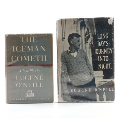 "First Edition ""Long Day's Journey into Night"" and ""The Iceman Cometh"" by O'Neill"