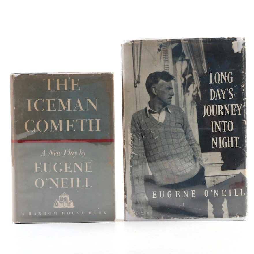 """First Edition """"Long Day's Journey into Night"""" and """"The Iceman Cometh"""" by O'Neill"""