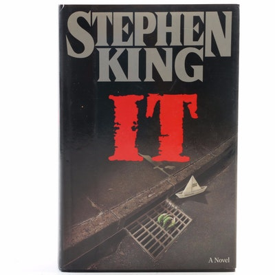 "First Edition, First Printing ""IT"" by Stephen King, 1986"
