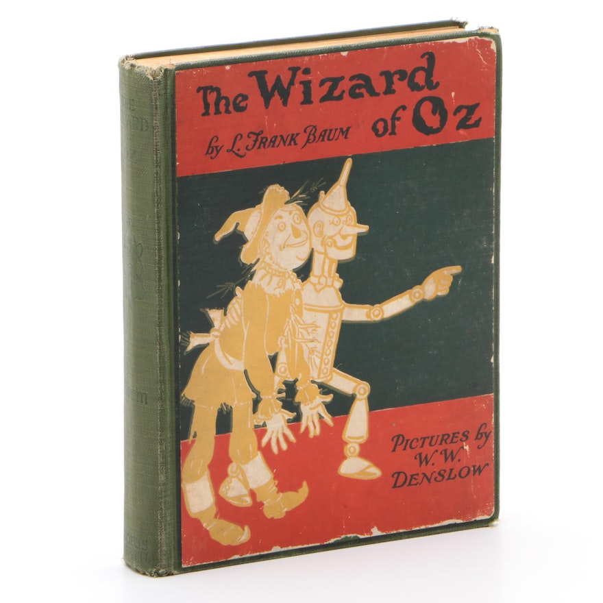 """Early Printing """"The New Wizard of Oz"""" by L. Frank Baum, Early 20th Century"""