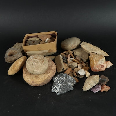 North American Stone Tools, Projectile Points, Arrowheads, and Artifacts