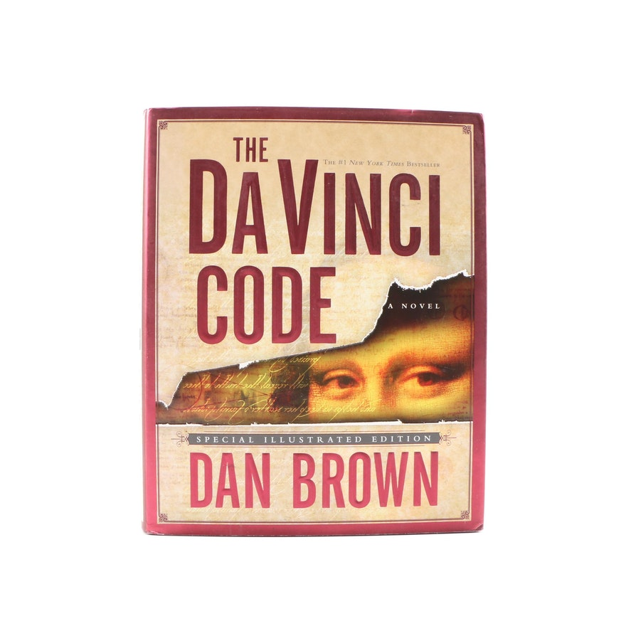 "Signed ""The Da Vinci Code"" by Dan Brown Special Illustrated Edition, 2004"
