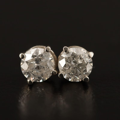 14K 1.54 CTW Diamond Stud Earrings