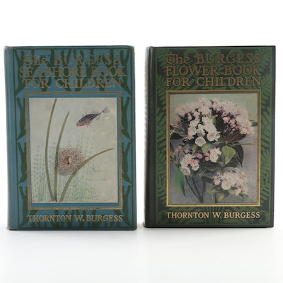 """Burgess Flower Book for Children"" and ""Burgess Seashore Book for Children"""