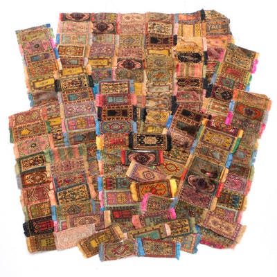 Luxury Cigarettes Fringed Miniature Rug Premiums, Early 20th Century