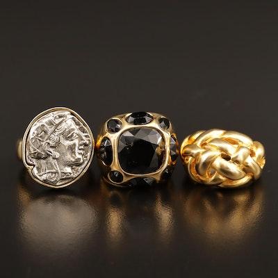 Vintage Kenneth Jay Lane Ring Selection