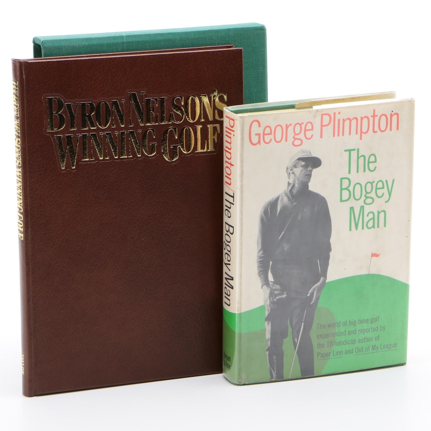 "Signed ""Byron Wilson's Winning Golf"" with ""The Bogey Man"" by George Plimpton"