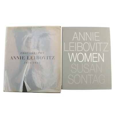 "Annie Leibovitz Signed ""Women"" with First Printing ""Photographs, 1970–1990"""