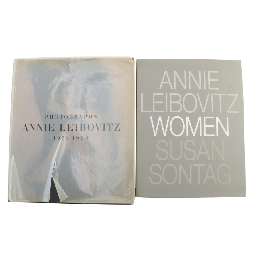 """Annie Leibovitz Signed """"Women"""" with First Printing """"Photographs, 1970–1990"""""""