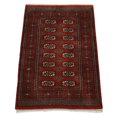 4'2 x 6'4 Hand-Knotted Wool Rug