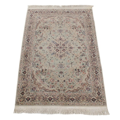 4'1 x 6'10 Hand-Knotted Wool Rug
