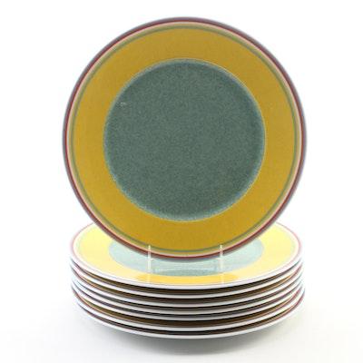 "Villeroy & Boch ""Beala"" Porcelain Chop Plates, Late 20th Century"