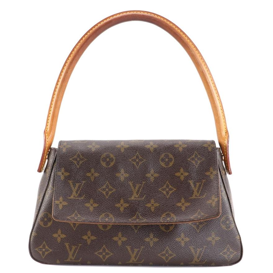 Louis Vuitton Mini Looping Shoulder Bag in Monogram Canvas