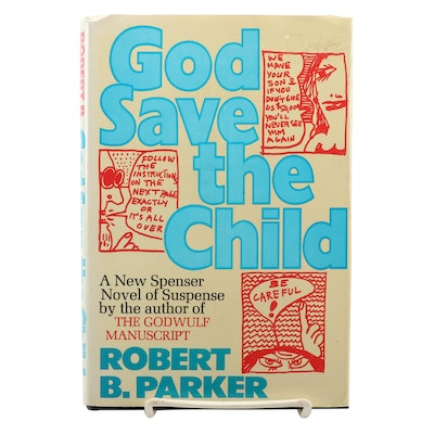 "First Printing ""God Save the Child"" by Robert B. Parker, 1974"
