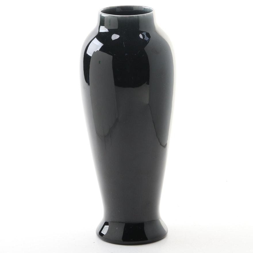 Rookwood Pottery Dark Violet Glaze Ceramic Vase, 1922