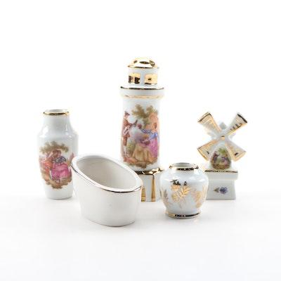 Fontanille & Marraud and Other Limoges Miniature Porcelain Décor