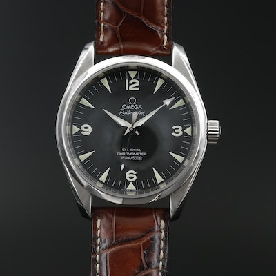 "Omega Seamaster ""Railmaster"" Chronometer Stainless Steel Automatic Wristwatch"