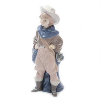 """Lladró """"Musketeer D'Artagnan"""" Porcelain Figurine Designed by"""