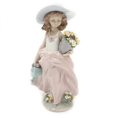 "Lladró Collectors' Society ""A Wish Come True"" Porcelain Figurine, 1999"