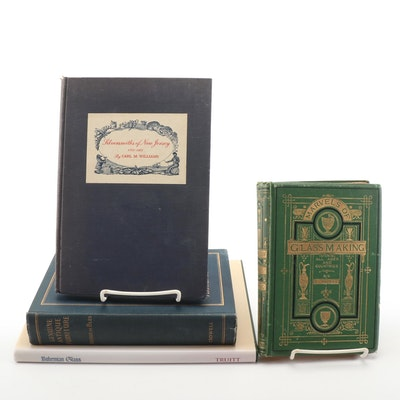 "First Edition ""Silversmiths of New Jersey"" with Books on Antique Furnishings"