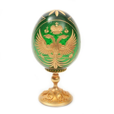 Fabergé Collection Limited Edition Cut Glass Imperial Egg