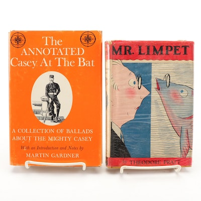 "First Edition ""Mr. Limpet"" by Theodore Pratt with ""Annotated Casey at the Bat"""