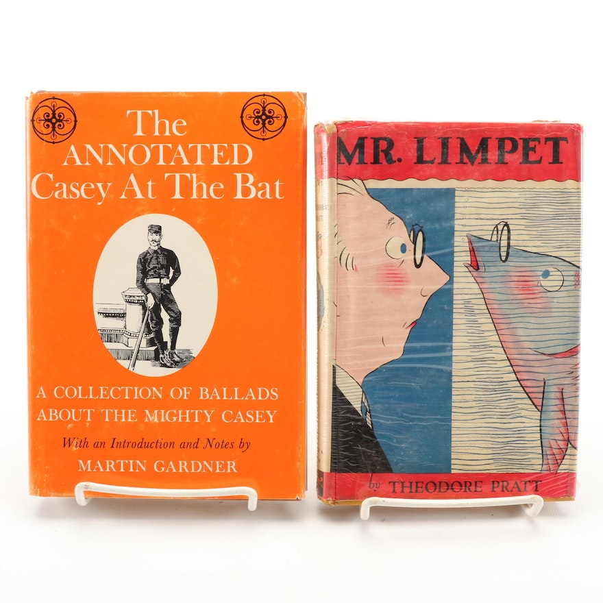 """First Edition """"Mr. Limpet"""" by Theodore Pratt with """"Annotated Casey at the Bat"""""""