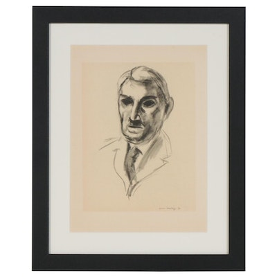 "Lithograph after Henri Matisse ""John Dewey"", 1954"