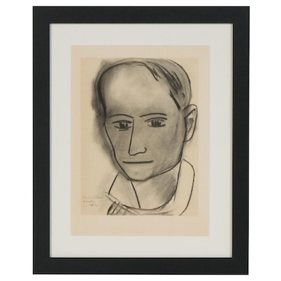 "Collotype after Henri Matisse ""Charles Baudelaire"", 1954"