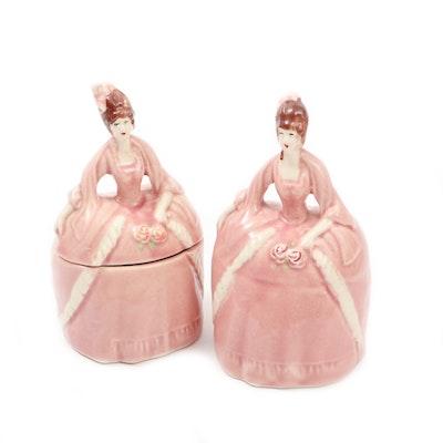 Madame Pompadour Porcelain Dresser Dolls