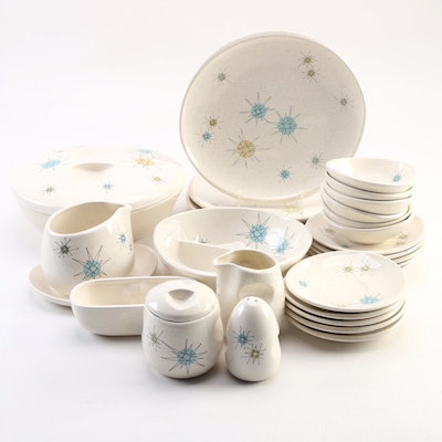 "Franciscan ""Starburst"" Earthenware Dinnerware, 1954–1966"