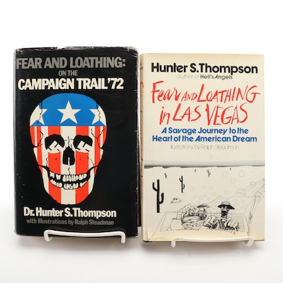 """Fear and Loathing in Las Vegas"" and ""On the Campaign Trail '72"" by H. Thompson"