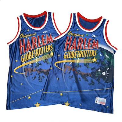 "Harlem Globetrotters ""Authentic Collection"" XL Basketball Jerseys"