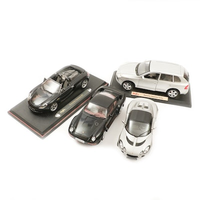 Maisto Diecast Replica Model Cars Including Porsche Cayenne Turbo