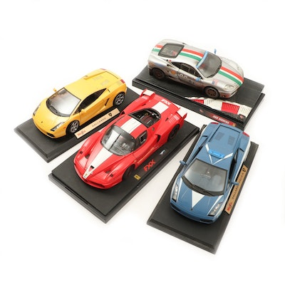 Maisto and Mattel Hot Wheels Replica Diecast Sport Cars