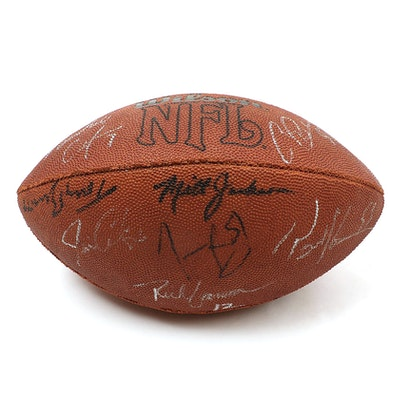Wilson NFL Cadillac Classic Autographed Football with Ron Jaworski