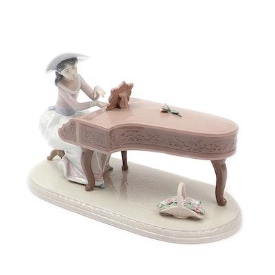 """Lladró """"Spring Recital"""" Porcelain Figurine Designed by Regino Torrijos"""