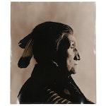 Carl Fischer Silver Gelatin Portrait of Chief John Big Tree