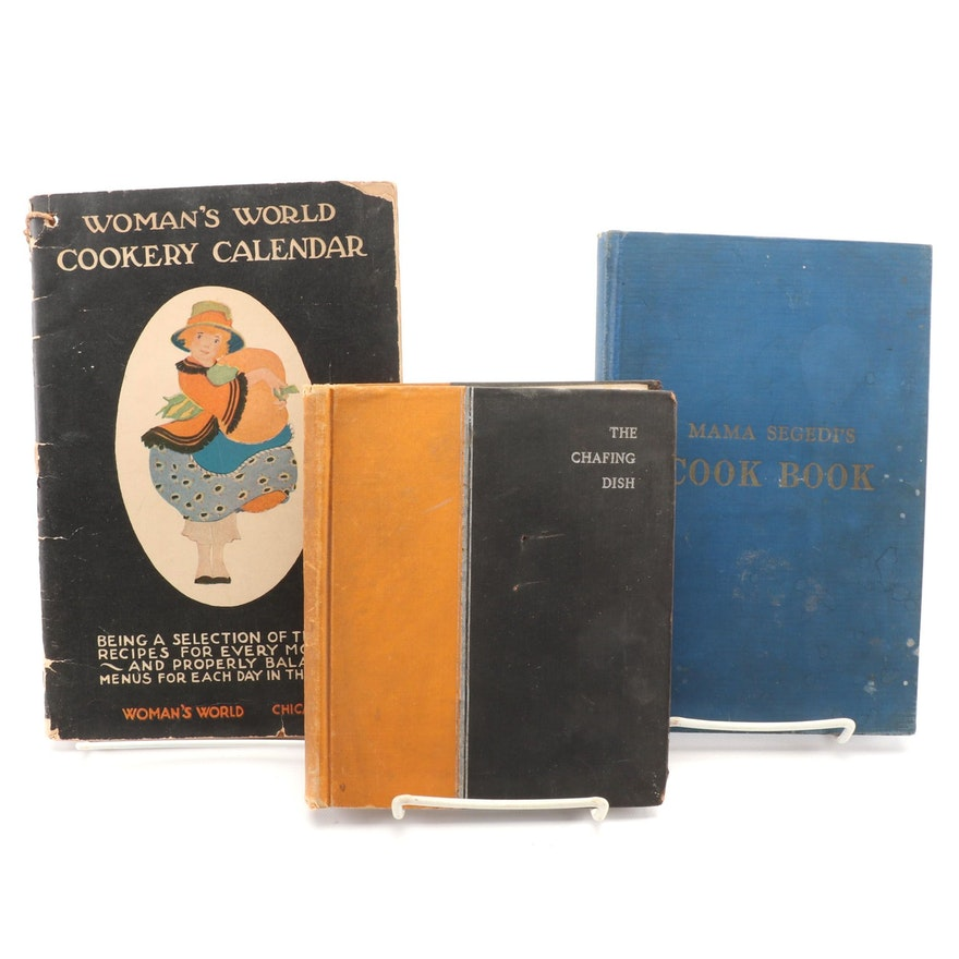 """Signed First Edition """"Mama's Segedi's Cook Book"""" by Štefa Segedi and More"""