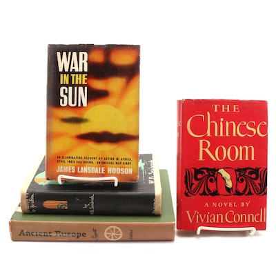 "Fiction and Nonfiction Books Including ""The Chinese Room"" by Vivian Connell"