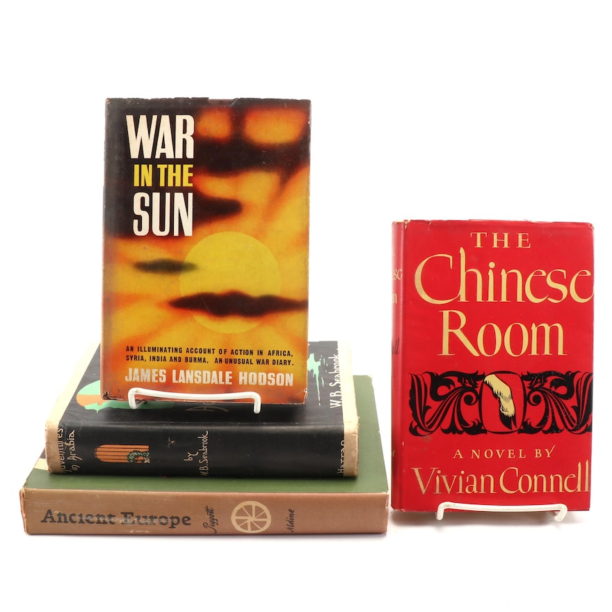 """Fiction and Nonfiction Books Including """"The Chinese Room"""" by Vivian Connell"""