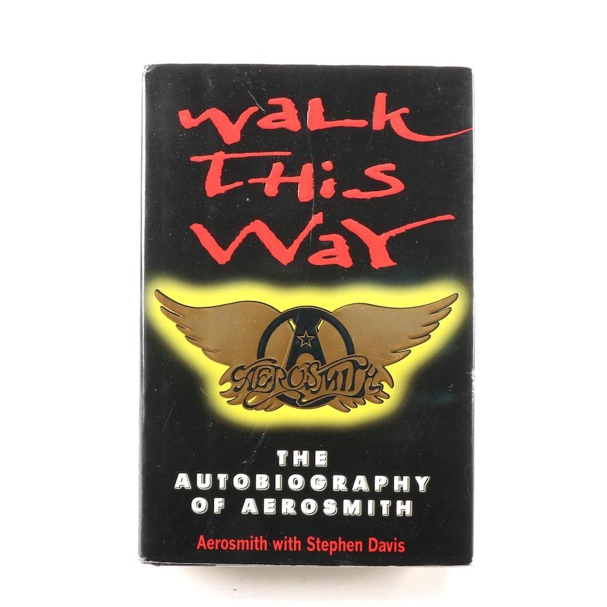 "Signed ""Walk This Way"" by Aerosmith, 1997 First Printing,  Visual COA"