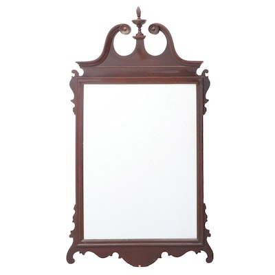 Federal Style Mahogany Wall Mirror, 20th Century