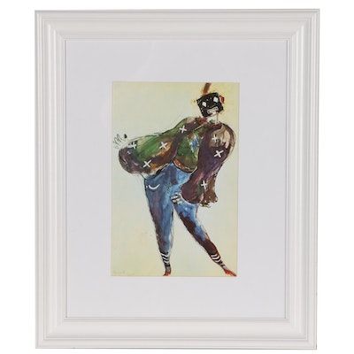 "Offset Lithograph after Marc Chagall ""Moster"", Late 20th Century"