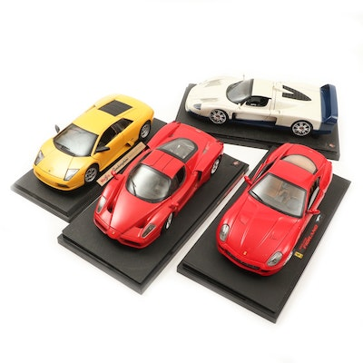 Maisto and Mattel Diecast Cars