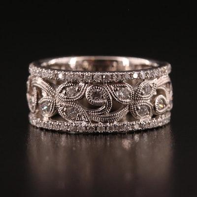 Neil Lane 14K Diamond Openwork Foliate Motif Ring