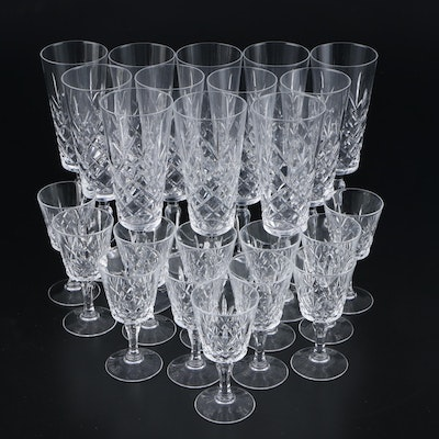 Lenox Glass Champagne Flutes and Cordials