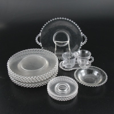 "Imperial ""Candlewick"" Glass Dinnerware and Table Accessories, 1936–1984"