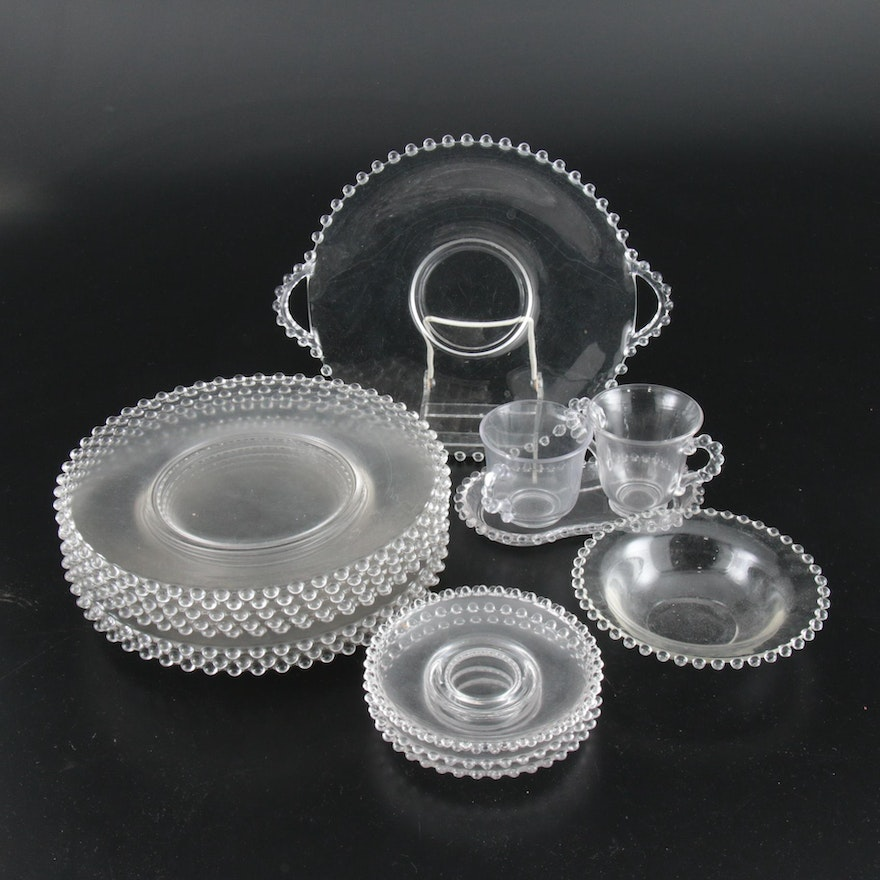 """Imperial """"Candlewick"""" Glass Dinnerware and Table Accessories, 1936–1984"""
